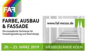 FAF FARBE, AUSBAU & FASSADE 2019